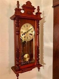 Ornate Wall Chime Clock
