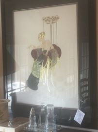 LILLIES AND LACE SIGNED AND NUMBER BY ERTE