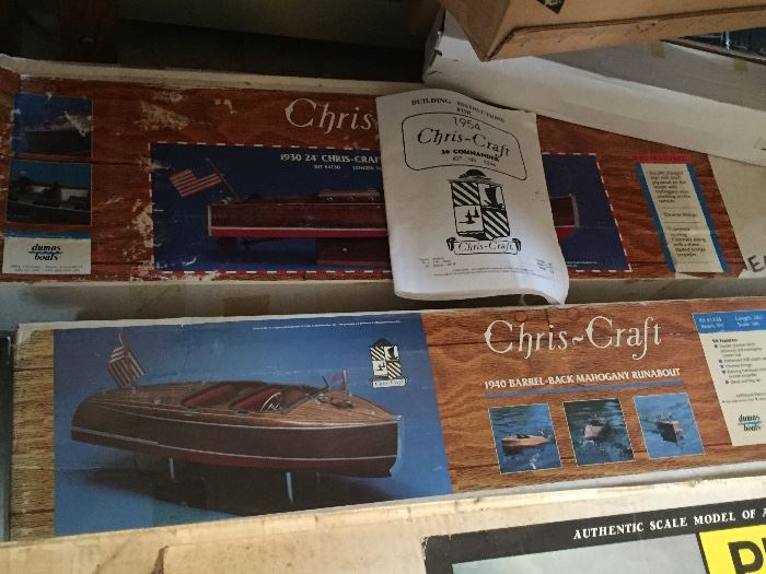 Chris-Craft model boat kits