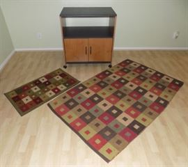 KDO005 Cabinet Stand and Rugs