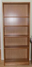 KDO004 Five Shelf Wood Bookshelf Unit