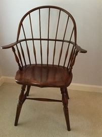 Spindle Back Windsor Arm Chair