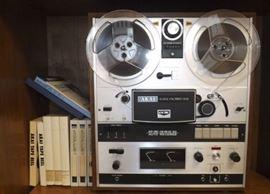 FVM028 Vintage Akai Tape Reel with Reels