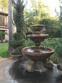 Massive Tuscan Fountain -