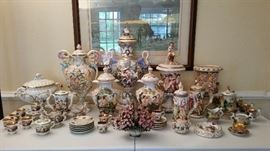 Part of a larger Capodimonte Collection.