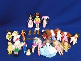 "5"" Fashion Dolls & Tutti Type Dolls"