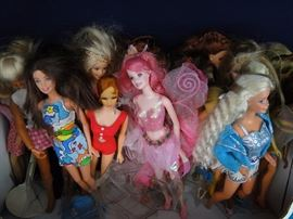 "12"" Fashion Dolls including Barbie"