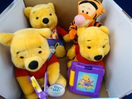 Battery Operated Winnie Bears