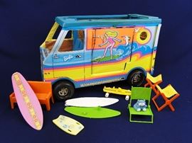 Barbie Surfer Van