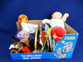 Cabbage Patch Doll/Toys Lot
