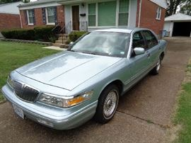1996 Grand Marquis 60k miles leather, runs good. Needs minor work (gasket)  $995. Clear title, drive it away.