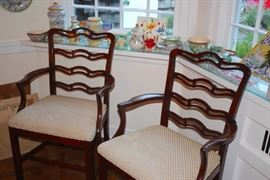 Set of 6 Chairs - These are the 2 Arm Chairs