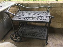Frontgate bar cart