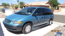 1998 Plymouth Grand Voyager SE  62170 miles. V-6 3.3L, 4 speed Transmission. Cold AC, Rear AC, Electric everything, Seats 7. $ 3200 or best offer