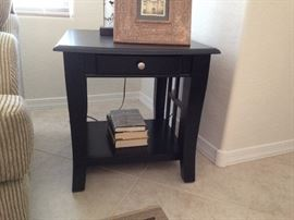 Family room end tables.