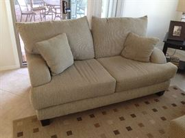 Family room love seat.