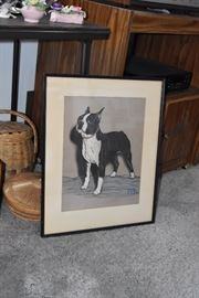 Dog art work by Gladys Emerson Cook