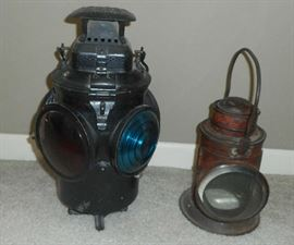 Antique Railroad Lanterns