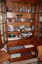 Loads of Decorative Serving Pieces and Bric-A-Brac