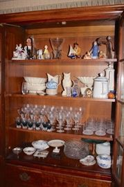 Stemware and Decorative items