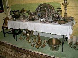 Some of the silverplate