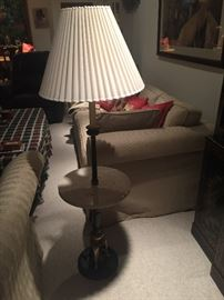 Vintage Marble Floor Lamp