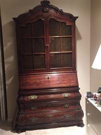 Vintage Armoir and built in desk. Henredon