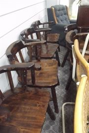 SET OF CAPTAINS CHAIRS