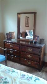Full size vintage bedroom set