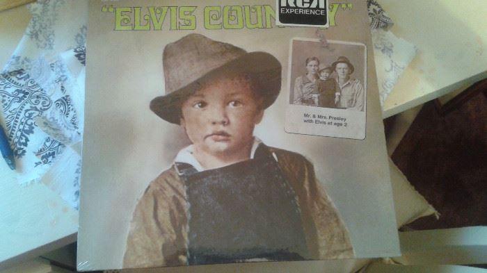 Elvis record/album/vinyl. NEVER been opened. in its original factory packaging.