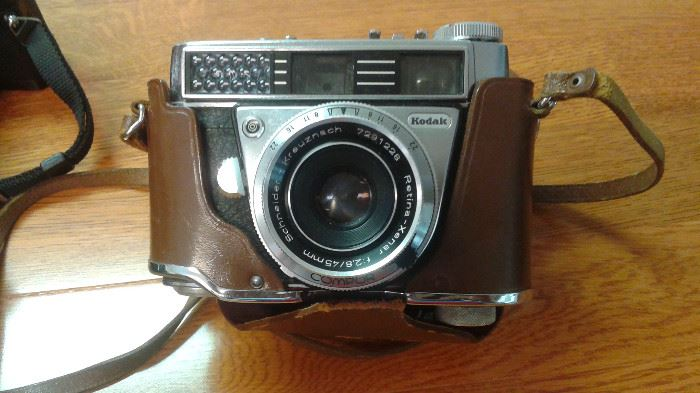 We have some really cool old vintage cameras!