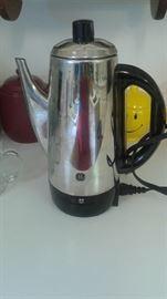 a real percolating coffee pot!