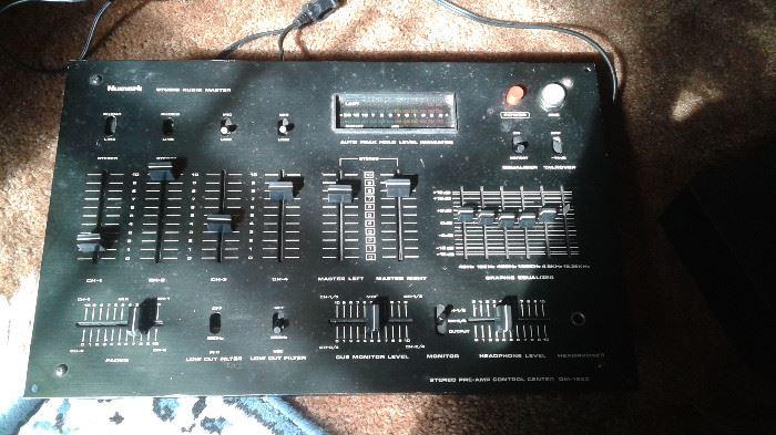 vintage Numark studio audio master