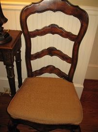 Chair that matches Country French table - cushion cover