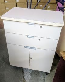 Rolling chest of drawers / cabinet.