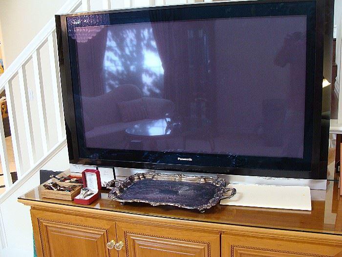 60+ in. Panasonic TV