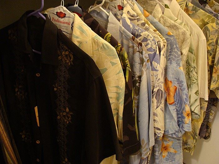 More Tommy Bahama Shirts-all sizes