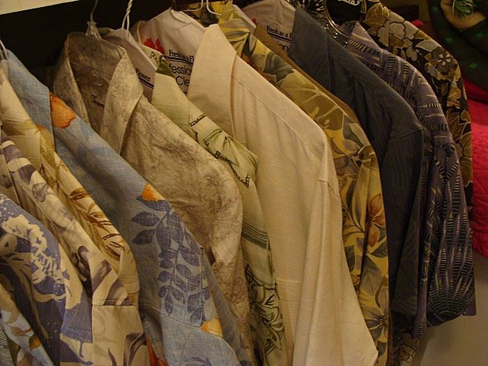 All more Tommy Bahama shirts