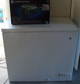Small Top opening freezer- 1 year old