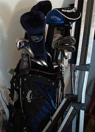 Set of excellent golf clubs