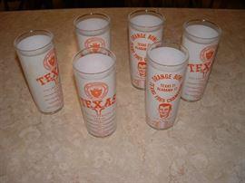 1965 University of Texas glasses