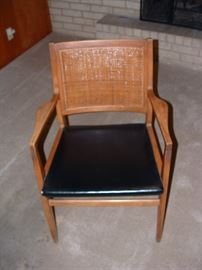 mid century chair (there are 6 - 4 + 2 arm chairs)