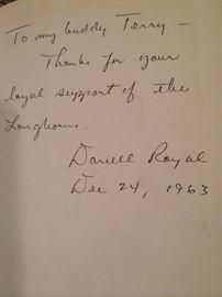 a signed copy