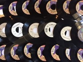 Just a small sample of the multiples.  Nearly 50+ Prince 45s alone