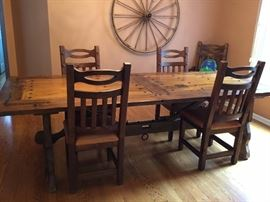 Custom Hand built dining table
