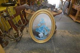 Blue Flower with Base Artist Lionel Speers