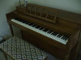Winter brand piano