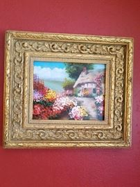 Beautifully framed and gorgeous painting