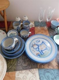 Dishes by M.A Hadley