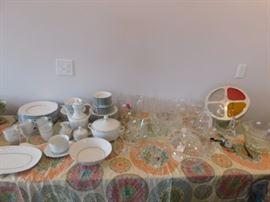 Princess house stemware,bowls and glasses